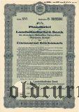 Landstandischen Bank, Bautzen, 1000 reichsmark 1937