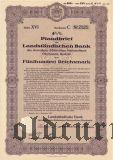 Landstandischen Bank, Bautzen, 500 reichsmark 1937