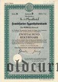 Frankfurter Hypothekenbank, 2000 reichsmark 1942
