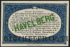 Германия, Havelberg, 5 пфеннингов 1917 года