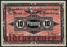 Германия, Havelberg, 10 пфеннингов 1917 года