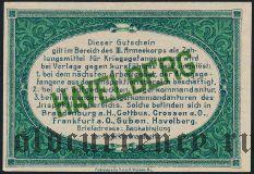 Германия, Havelberg, 25 пфеннингов 1917 года