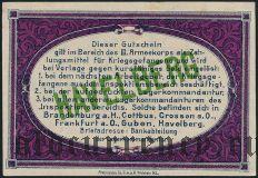 Германия, Havelberg, 50 пфеннингов 1917 года