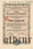 Rheinisch-Westfalische Boden-Credit-Bank in Koln, 1000 goldmark 1926