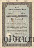 Deutschen Kommunal-Anleihe, 100 reichsmark 1939