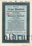 Deutschen Wohnstatten-Hypothekenbank, Berlin, 100 goldmark 1928