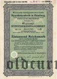 Hypothekenbank in Hamburg, 1000 reichsmark 1935