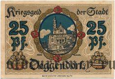 Деггендорф (Deggendorf), 25 пфеннингов 1918 года