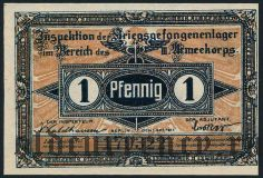 Германия, Frankfurt Oder, 1 пфеннинг 1917 года