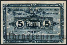 Германия, Frankfurt Oder, 5 пфеннингов 1917 года