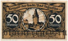 Бад-Зальцуфлен (Bad Salzuflen), 50 пфеннингов 1921 года