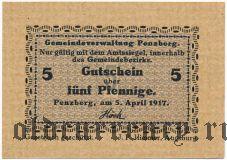 Пенцберг (Penzberg), 5 пфеннингов 1917 года