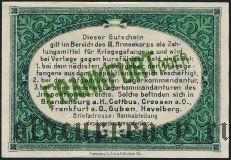 Германия, Frankfurt Oder, 25 пфеннингов 1917 года