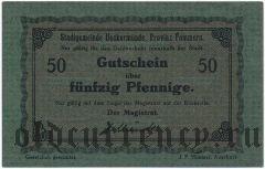 Иккермюнде (Ueckermünde), 50 пфеннингов