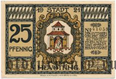 Нойэттинг (Neuötting), 25 пфеннингов 1921 года