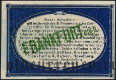 Германия, Frankfurt Oder, 1 марка 1917 года