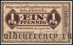 Германия, Salzwedel, 1 пфеннинг 1916 года
