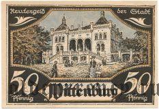 Виттенбург (Wittenburg), 50 пфеннингов 1922 года
