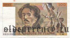 Франция, 100 франков 1985 года