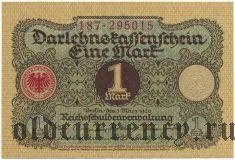 Германия, 1 марка 1920 года