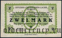 Германия, Döbeln, 2 марки 1917 года