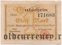 Брауншвейг (Braunschweig), 1 марка