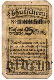 Зальцведель (Salzwedel), 25 пфеннингов 1921 года