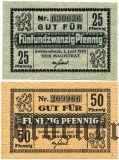 Швайнемюнде (Swinemünde), 2 нотгельда