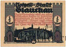 Глаухау (Glauchau), 50 пфеннингов 1921 года