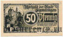 Зигмаринген (Sigmaringen), 50 пфеннингов 1920 года