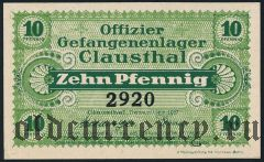 Германия, Clausthal, 10 пфеннингов 1917 года