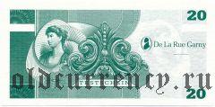 Германия, De La Rue Garny, тестовая банкнота 20