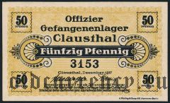 Германия, Clausthal, 50 пфеннингов 1917 года