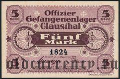 Германия, Clausthal, 5 марок 1917 года