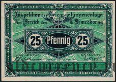 Германия, Brandenburg, 25 пфеннингов 1917 года