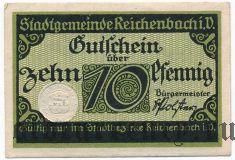 Райхенбах-им-Фогтланд (Reichenbach i. V.), 10 пфеннингов