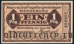 Германия, Merseburg, 1 пфеннинг 1916 года