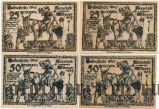 Витгенсдорф (Wittgensdorf), 4 нотгельда 1921 года