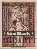Вайсензе (Weissensee), 1 марка 1921 года