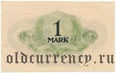 Ноймюнстер (Neumünster), 1 марка 1918 года