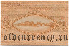 Крефельд (Crefeld), 20 марок 1918 года