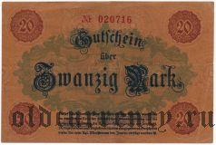 Плауэн (Plauen), 20 марок 1918 года