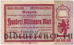 Эльберфельд (Elberfeld), 100.000.000 марок 1923 года