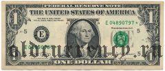 США, 1 доллар 2003 года. (Replacement/Замещение)