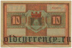 Цойленрода (Zeulenroda), 10 марок 1918 года
