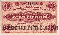 Германия, Holzminden, 10 пфеннингов 1916 года