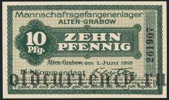 Германия, Alten-Grabow, 10 пфеннингов 1916 года