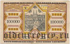 Пирмазенс (Pirmasens), 100.000 марок 1923 года