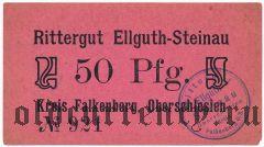 Эльгут-Штайнау (Ellguth-Steinau), 50 пфеннингов 1919 года