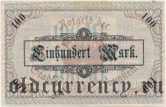Траунштайн (Traunstein), 100 марок 1919 года